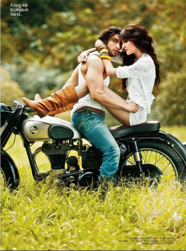 Ranveer Singh and Anushka Sharma Photoshoot