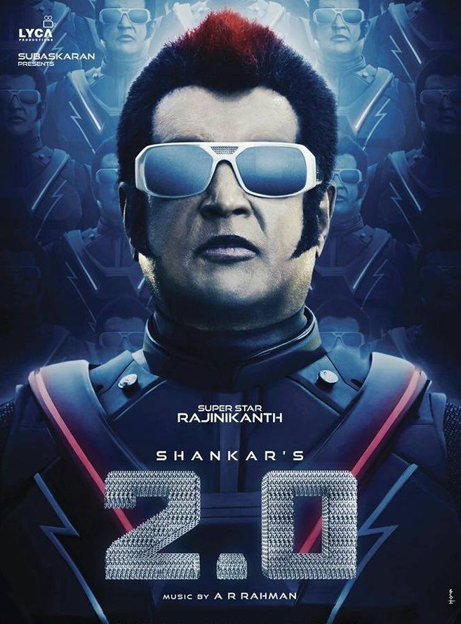 Rajinikanth, Akshay Kumar 2.0 First Look Poster, Official Teaser Launch